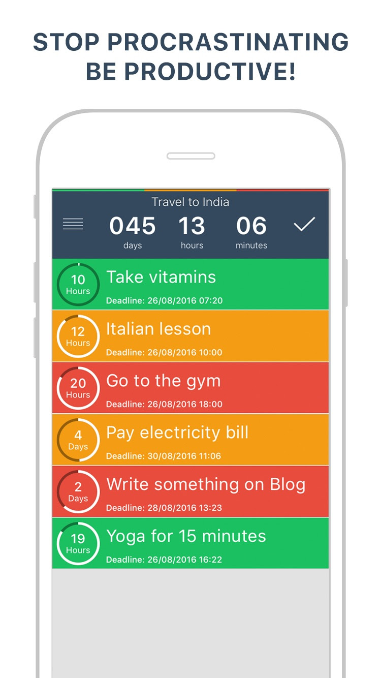 TODOO Your Daily To Do List Planner & Reminder by Ion Brumaru