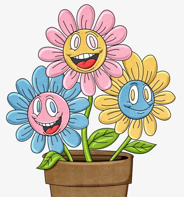 Terpopuler 30 Gambar Bunga Dalam Pasu Kartun Gambar Kartun Ku