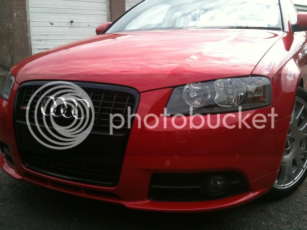 Audi A3 Black Grill Surround