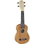 Ortega Guitars RFU10S Friends Series Soprano Ukulele Sapele top, back & sides Satin Finish with Free Deluxe Gig Bag