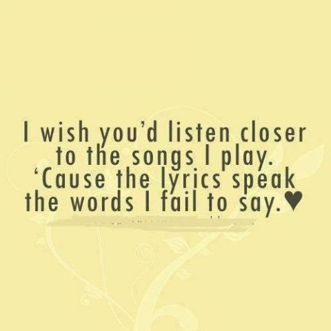 I Wish You Would Listen Closer Quotes And Funny Shiz Gallery