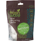 Fresh Wave Odor Removing Packs, Clear - 6 pack, 3.6 oz pouch