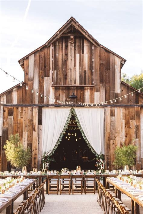 Best 20  Barn wedding venue ideas on Pinterest   Rustic