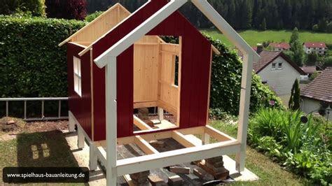 spielhaus holz selber bauen anleitung wohn design