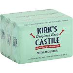Kirks Original Coco Castile, with Aloe Vera - 3 pack, 4 oz bars