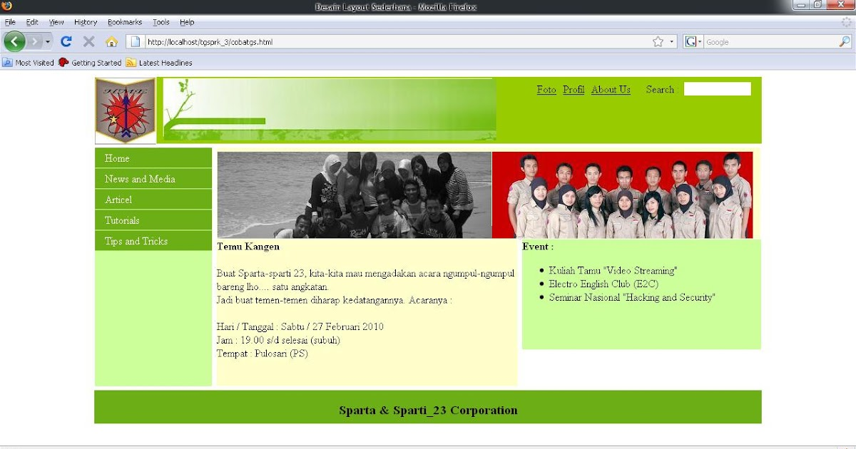 9000 Desain Halaman Web Dengan Css HD
