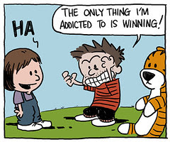 Charlie Sheen does the Sunday Comics