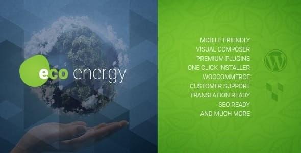 ECO Energy v1.9.1 - Ecology & Alternative Power Company WordPress Theme