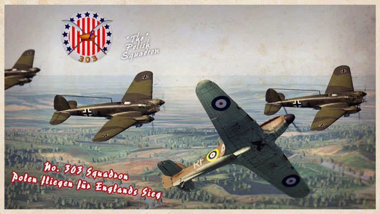 War Thunder Game Hub: Desastersoft revisited: 303 Squadron Campaign