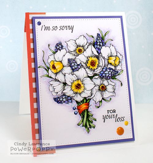 the creative closet by cindy lawrence: Power Poppy Sneak Peek Day 3:  Daffodils