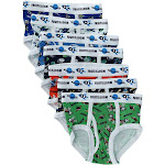 Fruit of the Loom Toddler Boys Days of the Week Briefs Underwear (7