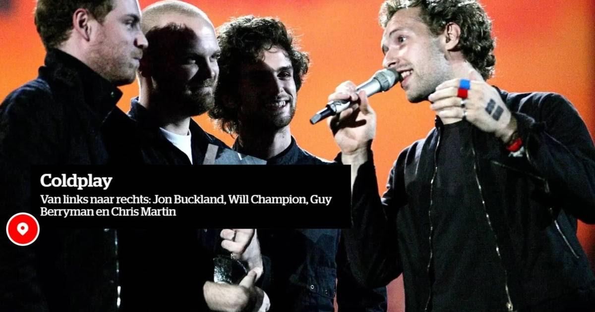 QUIZ. Test je kennis over Coldplay   Muziek   hln.be