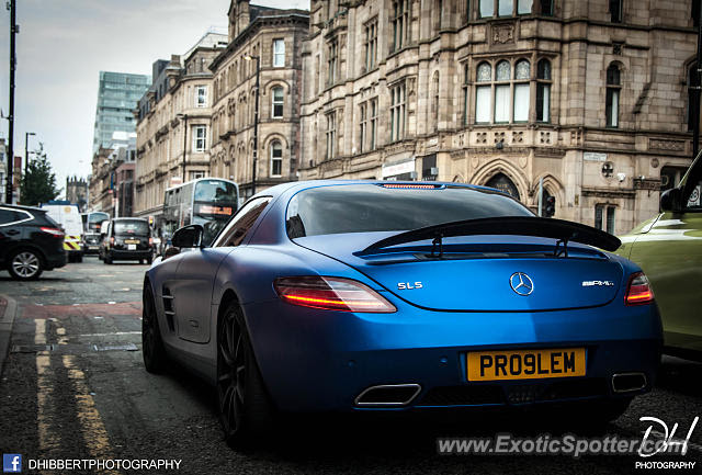 Mercedes SLS AMG spotted in Manchester, United Kingdom on ...