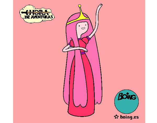 Dibujo De La Dulce Princesa Pintado Por Wichii En Dibujosnet El Día