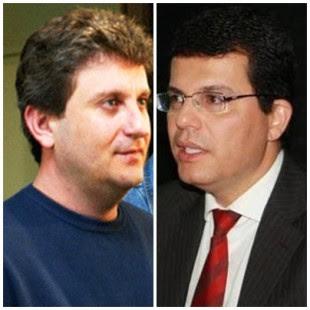 Doleiro Alberto Youssef e o secretário Fabio Gondin