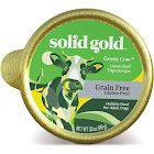 Solid Gold Grain Free Wet Dog Food Green Cow Beef Tripe Recipe 3.5 oz.