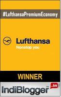 Lufthansa IndiBlogger Contest Winner