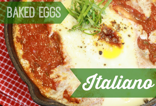 Baked Eggs Italiano (VLCD P2 , Low Cal, Paleo) - Everyday HCG