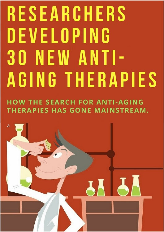 Researchers Developing 30 New Anti-Aging Therapies | Longevity Facts