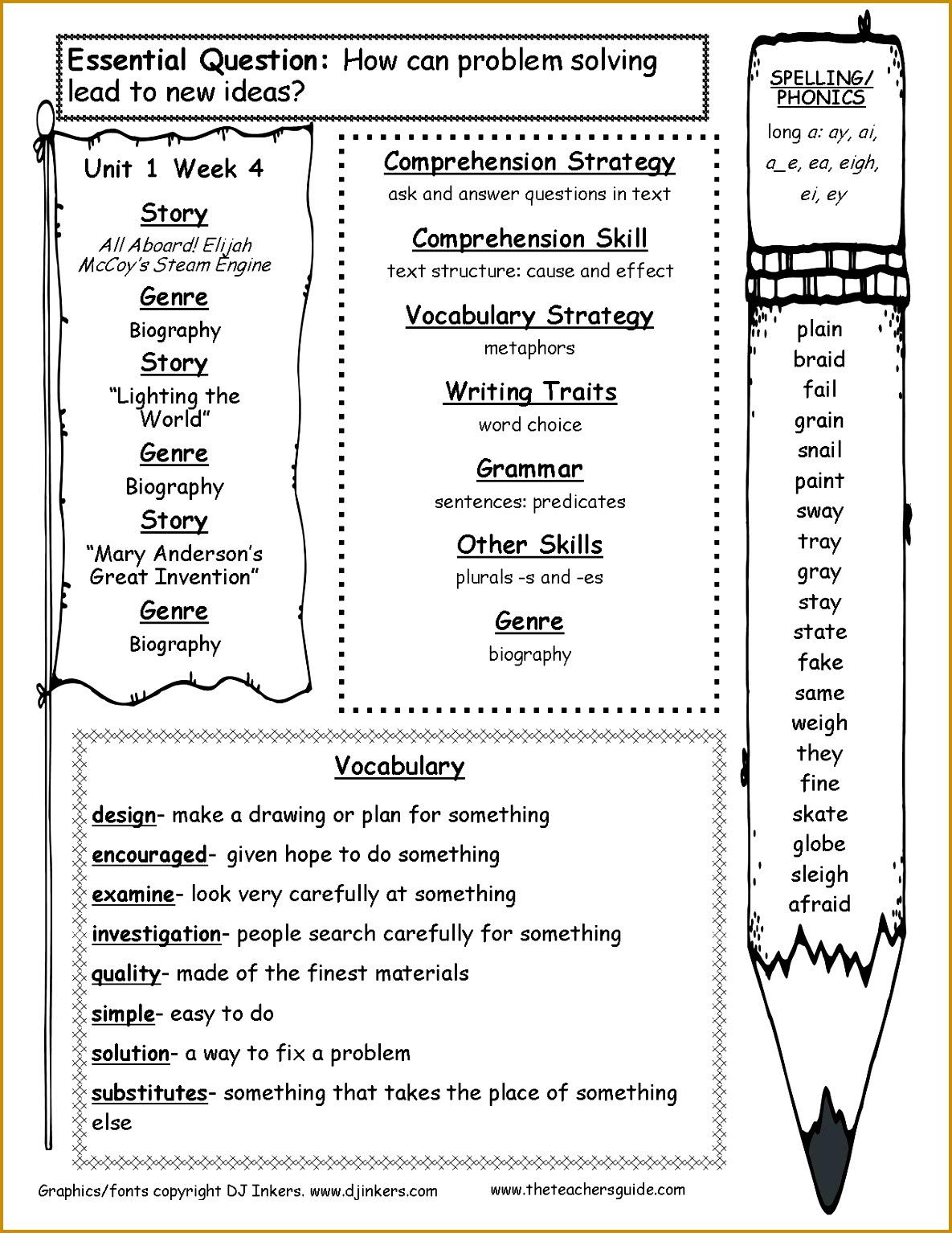 4 9th Grade Reading Prehension Worksheets