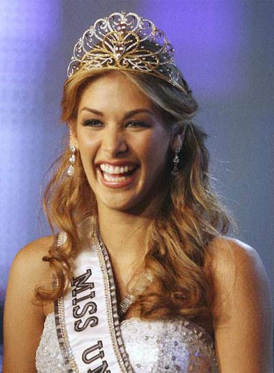 La Miss Universo venezolana, Dayana Mendoza