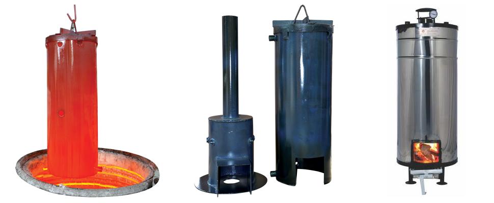 Wood Fired Storage Water Heater