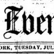 Time Travelogue, 1853 edition: a Slice of NYC Life