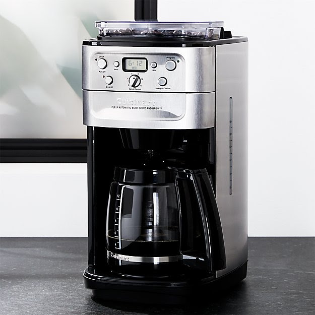 Cuisinart ® Grind and Brew 12 Cup Coffee Maker | Crate and Barrel
