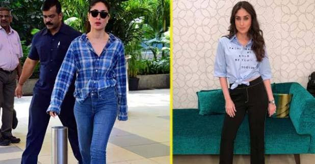 Many Times Kareena Kapoor Khan Chooses Shirts Over Her Favourite Tees