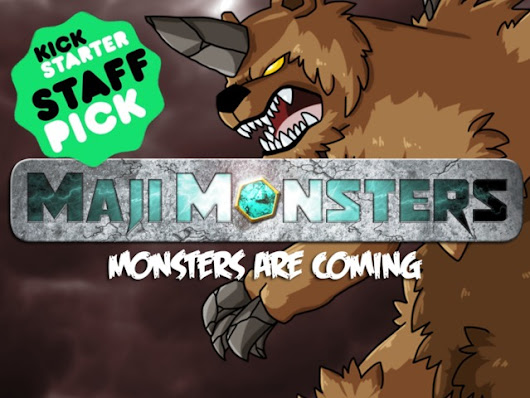MajiMonsters: Monster-Catching Tabletop Role-playing Game by Late Knight Games — Kickstarter