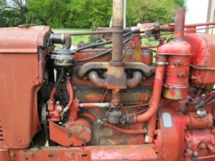 84 Farmall H Hydraulic Pump Conversion