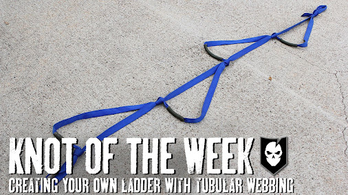 Creating Your Own Ladder with Tubular Webbing – ITS Knot of the Week HD