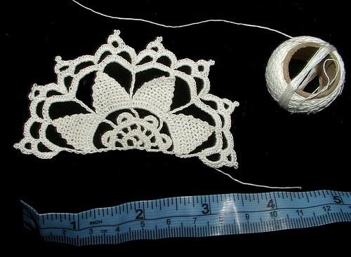 irish lace copy of needle lace