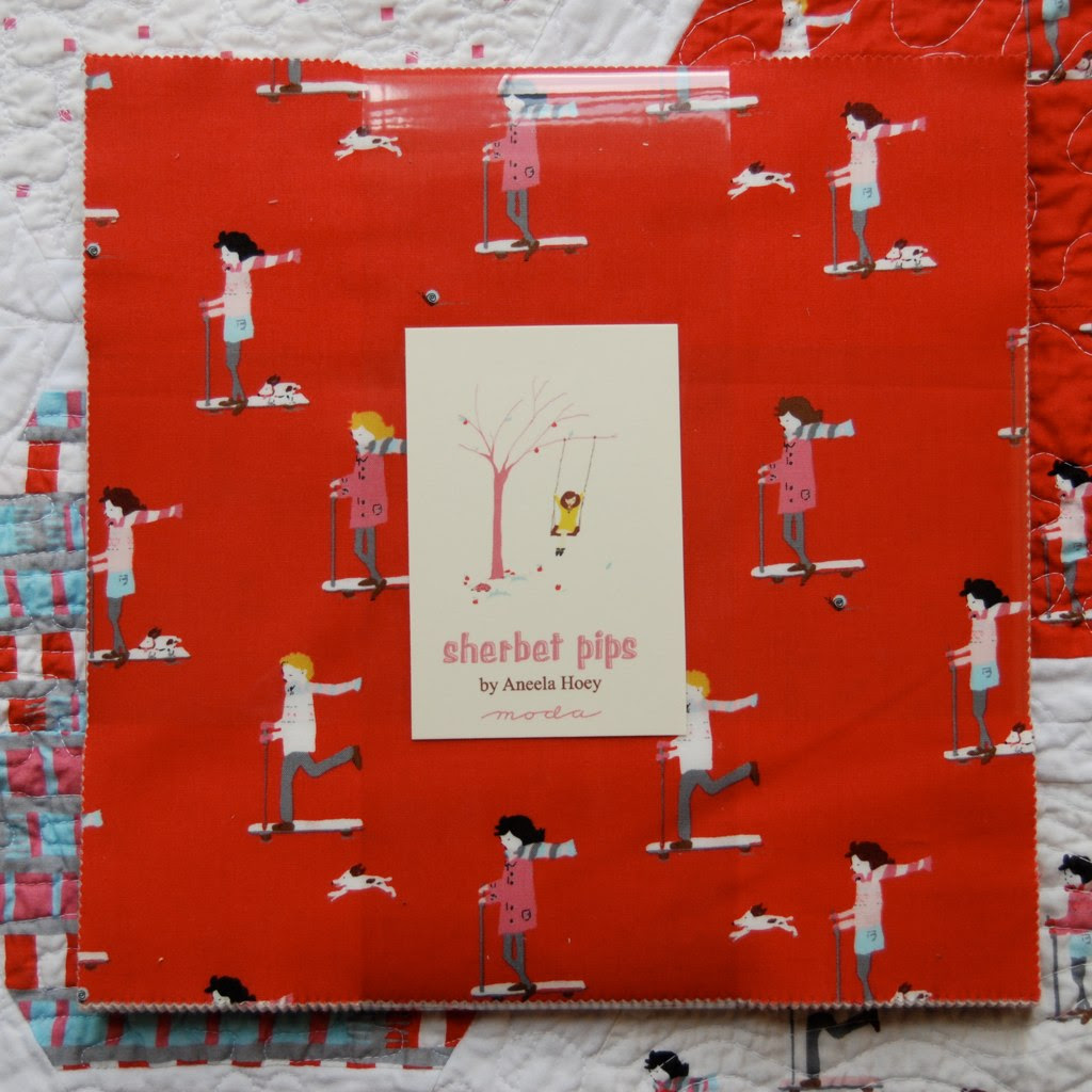 Moda Bake Shop quilt and giveaway tomorrow