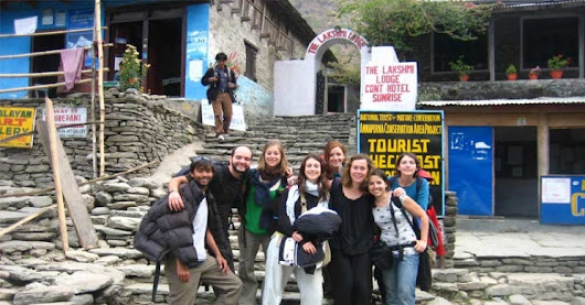 Ghorepani Poon Hill Trekking offers the amazing scenery of the Himalaya.