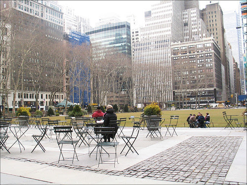 Bryant Park in Early Spring