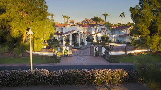 This Phoenix mansion would be a great New Year's spot (for $7.2 million) - Phoenix Business Journal