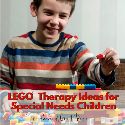 LEGO Therapy Ideas for Special Needs Children