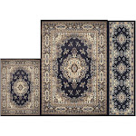 Home Dynamix Ariana 7069 Indoor Area Rug - Set of 3 Navy Blue