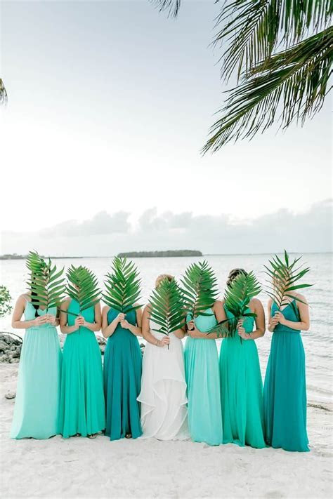 A Tropical Destination Wedding in Key Largo   Bridesmaid