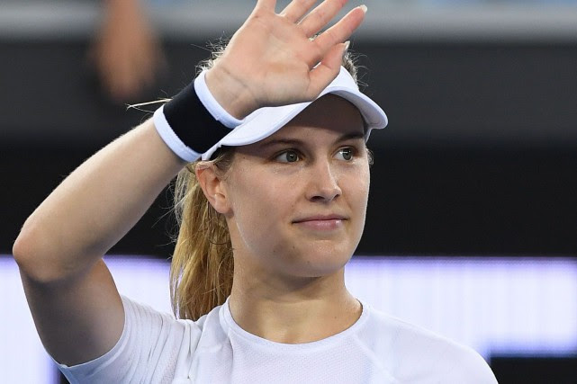 Eugenie Bouchard... (Photo William West, Agence France-Presse)