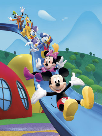 Mickey Mouse Clubhouse: Friends Equals Fun Art Print