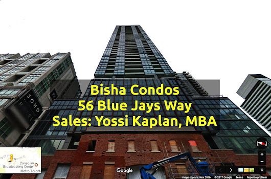 Bisha Condos For Sale @ 56 Blue Jays Way (Bach, One Deb, One Plus Den, 2-Bed)