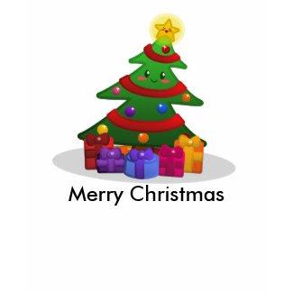 Cheery Christmas Tree T-Shirt shirt