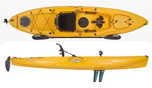 Hobie Outback 12 Fishing Kayak Review