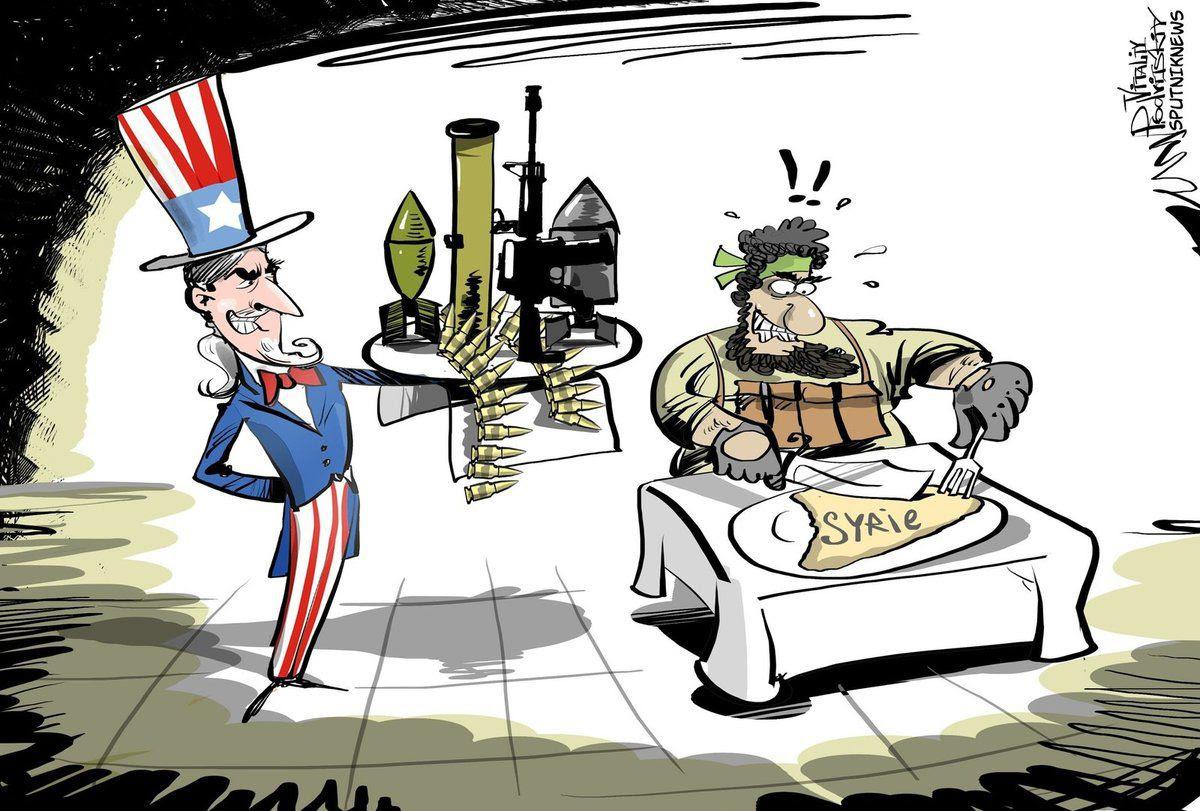 Un commandant d'al-Nosra: «les USA sont de notre côté»