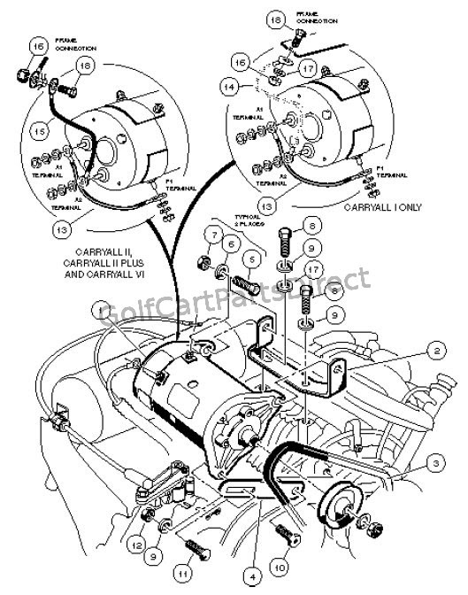 Wiring Diagram For Ezgo Electric Golf Cart