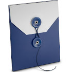 Best Buy Exclusive - Gift Card Sleeve - Blue/White