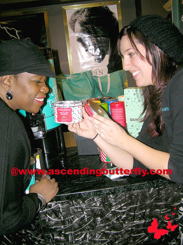 Tea from Ed Burns Mamarazzi Fitzgerald Family Christmas event WATERMARKED
