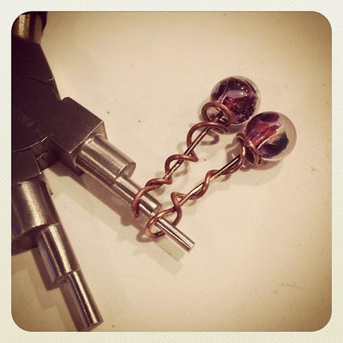 Glass headpins tutorial glass addictions by jennifer cameron #AJEearring